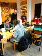 Zusammenkommen im Reparatur-Café
